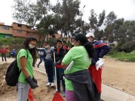 Representantes de juntas y entidades comprometidas por recuperación de su territorio